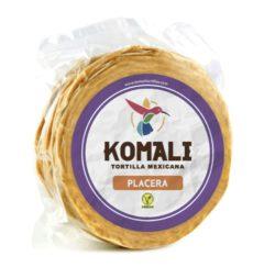 tortilla de maiz amarillo