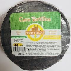 Tortilla De Maíz Azul