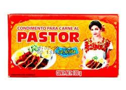 Condimento para Carne al Pastor