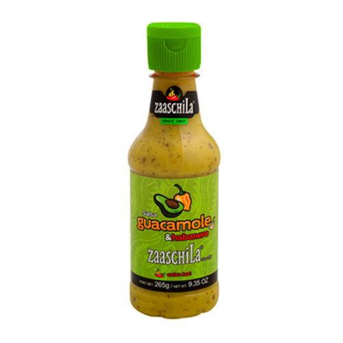 Salsa Guacamole con Chile Habanero