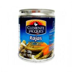 Jalapeños en Rajas