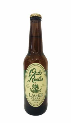 Cerveza Ocho Reales Lager Clara