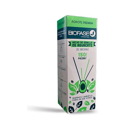 Popote biodegradable